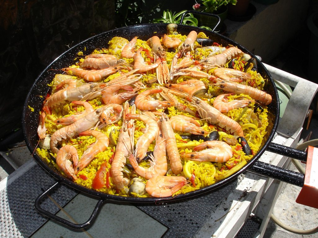 Paella proves to be popular in the best restaurants in Las Vegas