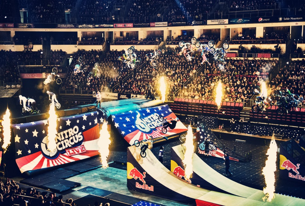 Nitro Circus returns home - one of the events in SLC