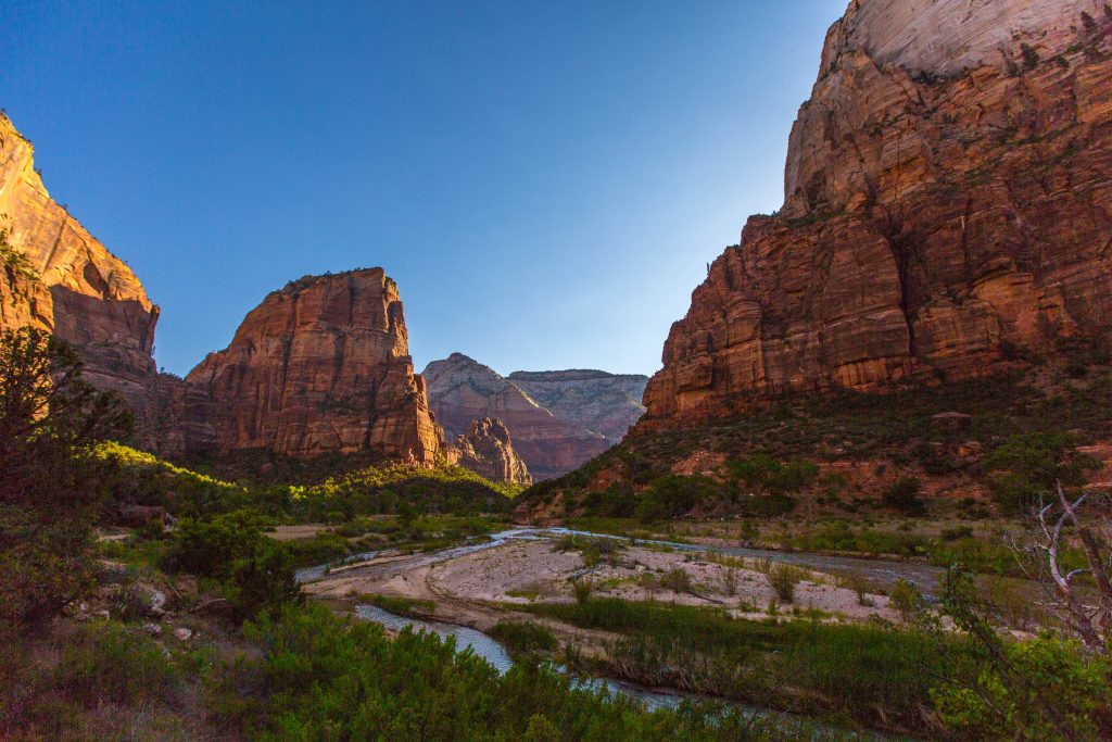 Zion National Park is a world-famous park in St. George's backyard