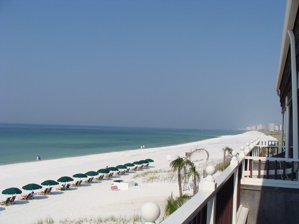 Destin, FL is one of the great honeymoon destinations.