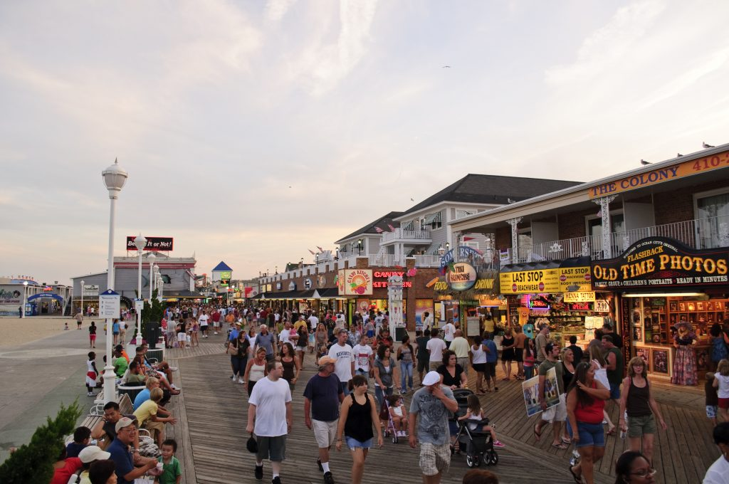 Ocean City, MD is one of the great honeymoon destinations.
