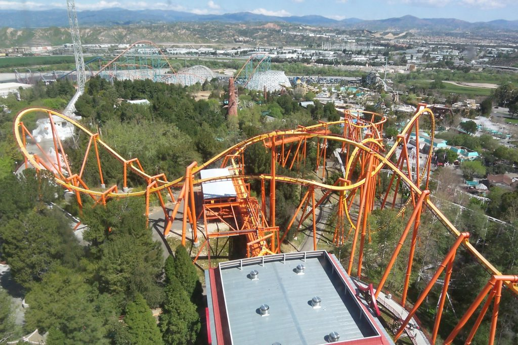 Six Flags is one of the great honeymoon destinations.