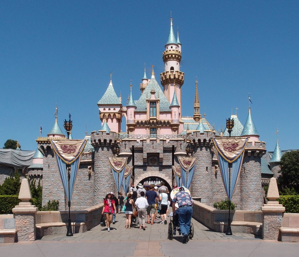 Disneyland is one of the great honeymoon destinations.