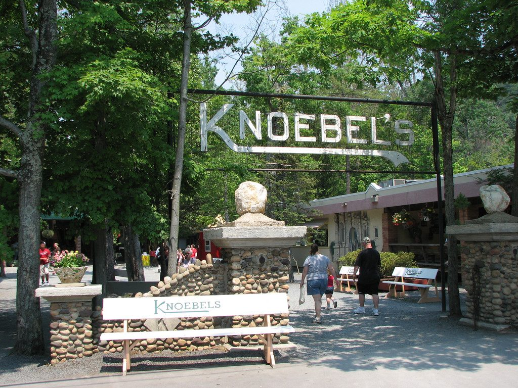 Knoebels is one of the great honeymoon destinations.