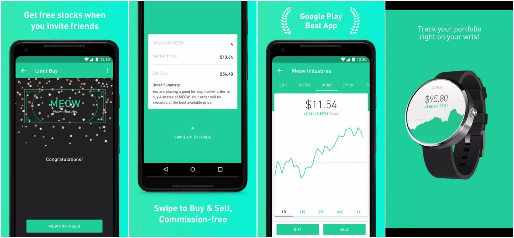 Robinhood is a great app to start investing.